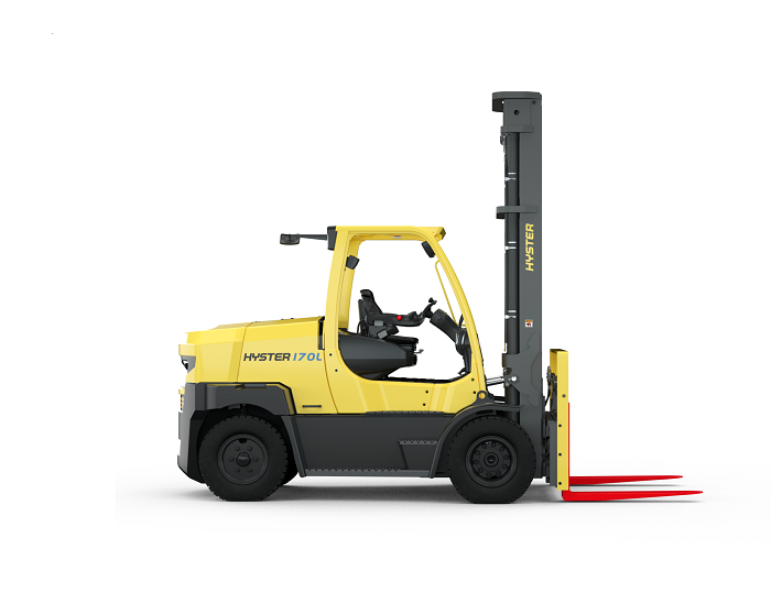 Hyster integrated lithium
