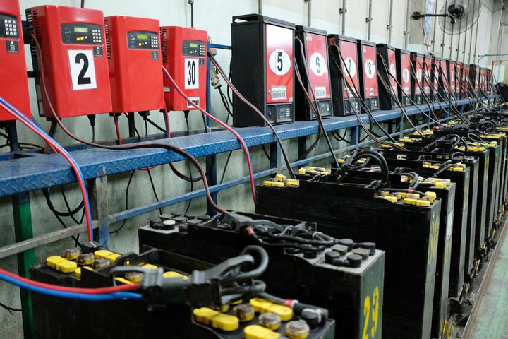 lithium ion forklift batteries