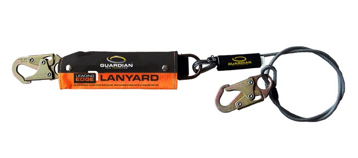 Guardian cable lanyard